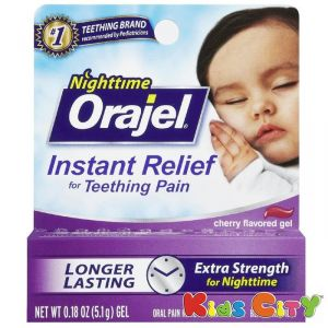 Orajel Instant Relief Nighttime Teething Gel - 5.1g