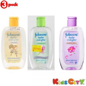 Johnsons Baby Cologne Combo (pack Of 3) - Bounce + Forever Mine + Morning Dew