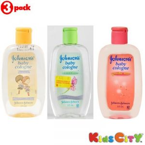 Johnsons Baby Cologne Combo (pack Of 3) - Bounce + Forever Mine + Powder Mist