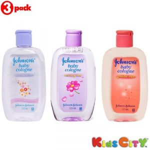 Johnsons Baby Cologne Combo (pack Of 3) - Lasting Blooms + Morning Dew + Powder Mist