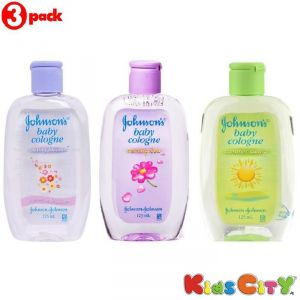 Johnsons Baby Cologne Combo (pack Of 3) - Lasting Blooms + Morning Dew + Summer Swing