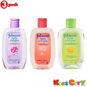 Johnsons Baby Cologne Combo (pack Of 3) - Morning Dew + Powder Mist + Summer Swing