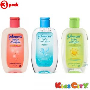 Johnsons Baby Cologne Combo (pack Of 3) - Powder Mist + Regular + Summer Swing