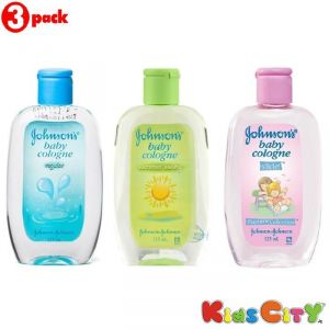 Johnsons Baby Cologne Combo (pack Of 3) - Regular + Summer Swing + Slide