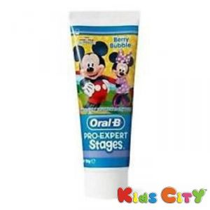 Baby oral care - Oral-B Pro-Expert Stages Toothpaste 93G - Berry BuBBle (Mickey Mouse)