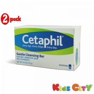 Cetaphil Skin Care - Cetaphil Gentle Cleansing Bar - 127G (4.5oz) (Pack of 2)