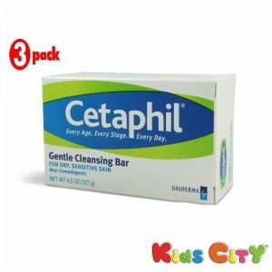 Cetaphil Skin Care - Cetaphil Gentle Cleansing Bar - 127G (4.5oz) (Pack of 3)