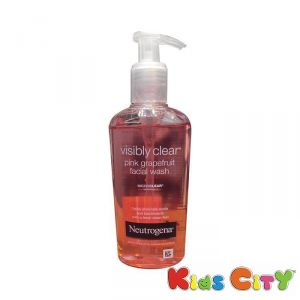 Neutrogena Personal Care & Beauty ,Health & Fitness  - Neutrogena Visibly Clear Pink Grapefruit Facial Wash - 200ml