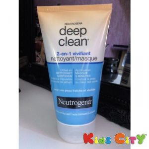 Neutrogena Deap Clean 2-in-1 Wash Mask - 150ml