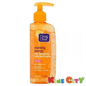 Clean & Clear Morning Energy Skin Energising Daily Facial Wash - 150ml