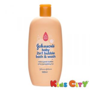 Johnsons Baby 2in1 Bubble Bath & Wash - 500ml