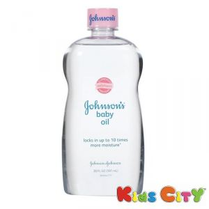 Johnsons Baby Oil 591ml (20oz) - (us)