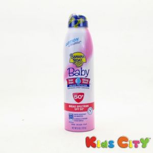 Banana Boat Baby Continuous Spray Sunscreen Spf50 - 170g (6oz)