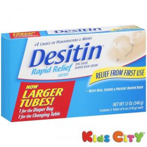 Desitin Rapid Relief Creamy Nappy Cream 2pk - 340g (12oz)