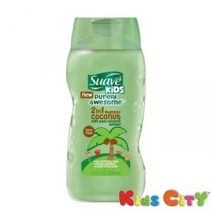 Suave Kids 2 In 1 Shampoo 355ml (12oz) - Coconut
