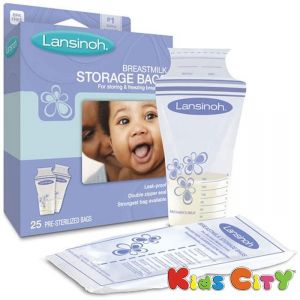 Lansinoh Breastmilk Storage Bags - 25pk