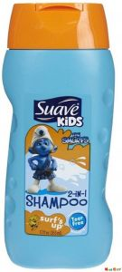 Baby shampoos - Suave Kids 2 In 1 Shampoo 355ml (12oz) - Smurfs Up