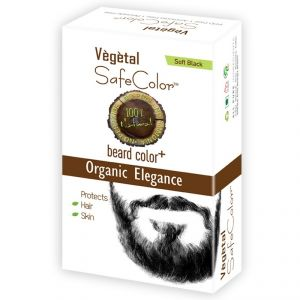Vegetal Safe Color-soft Black - 25gm