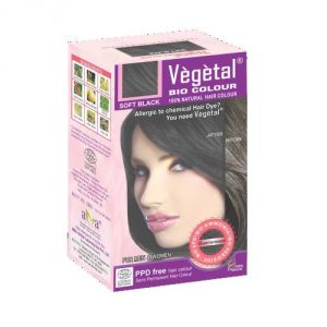 Hair Care - VEGETAL BIO COLOUR-SOFT BLACK-150gm