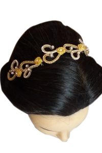 Hair Curlers, Clippers, Stylers - NOORINA Decorative Accessory Hair Band