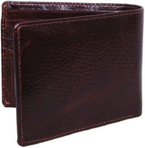 Woodland Belts ,Socks ,Wallets  - WOODLAND WALLET - REDDISH BROWN