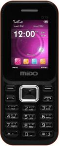 Dual sim feature phones (Misc) - Mido D19 1.8 inch Multimedia Phone With Auto Call Recorder And Wireless FM