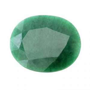 Gemstones, Rudraksha etc. - 14.25 Ratti Emerald Panna Loose Gemstone - EMR-0061A