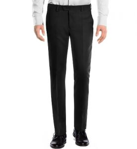 Trousers (Men's) - Amar Deep Formal Trouser - Black
