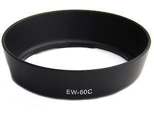 Camera Accessories (Misc) - Canon EW-60C Lens Hood