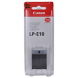 Canon Lp-e10 Battery For Canon EOS 1100d Warranty
