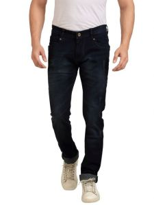 Jeans (Men's) - Goplay Dark Blue Stretch Washed Jeans For Mens - (Code -GP9603S)