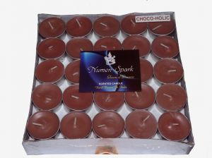 CHOCOHOLIC TEA-LIGHT CANDLE(Pack Of 50)