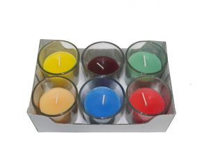 Multi-scent Votive Candle(pack Of 6)