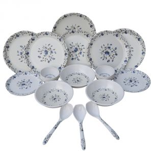 Czar 24 Pic Dinner Set-flower Print-1009