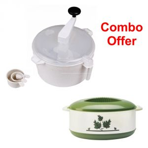 Czar Combo Of Dough Maker With Casserole