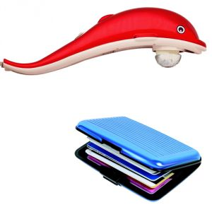 Czar Card Holder As Freebie With Red Dolphin Massager