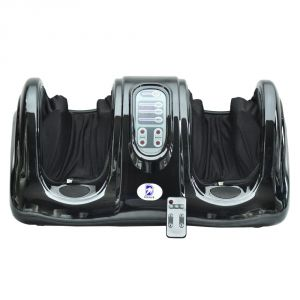Leg Massagers - Czar Compact Leg & Foot Massager Portable Foot Roller Suitable - Home & Office use