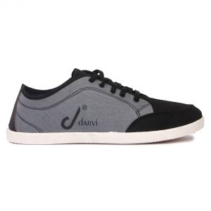 Canvas Shoes (Men's) - Czar Men's Casual Canvas Sneakers Shoes (Code-Darvi 0461)