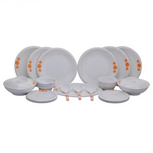Czar Dine Smart Bold 32 PCs Melamine Dinner Set 207