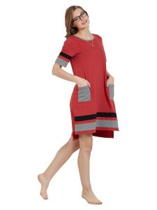 Mystere Paris Colour Blocked Short Dress (code - C277b )