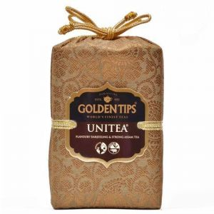 Golden Tips Unitea Darjeeling & Assam Blend Tea - Brocade Bag, 250g