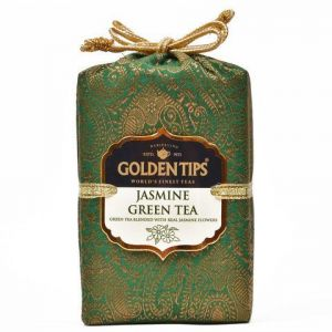 Golden Tips Jasmine Green Tea - Brocade Bag, 100g