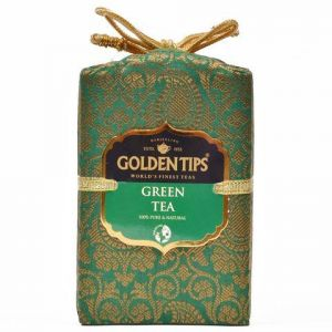 Golden Tips Darjeeling Green Tea - Brocade Bag, 250g