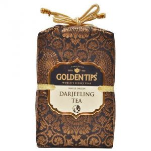 Golden Tips Pure Darjeeling Black Tea - Brocade Bag, 250g