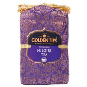 Golden Tips Pure Nilgiri Black Tea - Brocade Bag, 250g