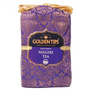 Golden Tips Pure Nilgiri Black Tea - Brocade Bag, 100g