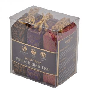 Golden Tips Black Tea, 3-in-1 Darjeeling, Nilgiri & Assam - Brocade Bags, 50x3g