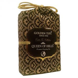 Golden Tips Queen Of Hills Premium Darjeeling Tea - Brocade Bag, 100g