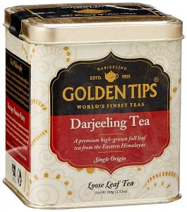 Golden Tips Darjeeling Tea - Tin Can, 100g