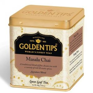 Golden Tips Masala Chai - Tin Can, 200g